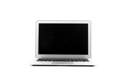 Computer portatile di progettazione nell'alta definizione Fotografie Stock