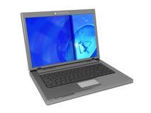 Computer portatile generico Immagini Stock Libere da Diritti