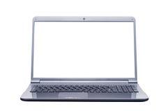 Computer portatile isolato Fotografie Stock