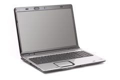 Computer portatile isolato Fotografie Stock Libere da Diritti