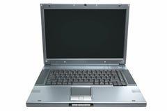 Computer portatile isolato Fotografia Stock Libera da Diritti