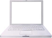 Computer portatile isolato immagine stock