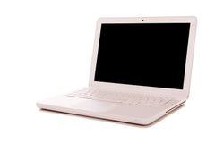 Computer portatile moderno immagini stock