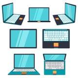 Computer portatile moderno Vettore Immagine Stock Libera da Diritti