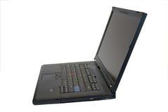 Computer portatile nero moderno Immagini Stock
