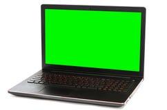 15 Computer portatile a 6 pollici isolato su fondo bianco Immagini Stock