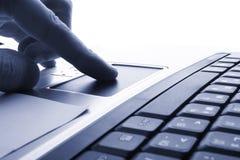 Computer portatile, tecnologia di affari Fotografia Stock Libera da Diritti