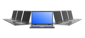 Computer portatili Immagini Stock