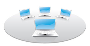 Computer portatili Immagine Stock