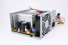 Computer power supply Stock Photography