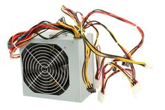 Computer Power Supply Royalty Free Stock Images