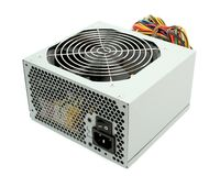 Computer power supply with fan Royalty Free Stock Photography