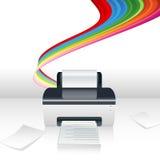 Computer printer Stock Images