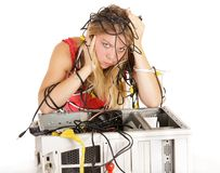 Computer problem Stock Photography