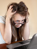 Computer Problems Stock Photography