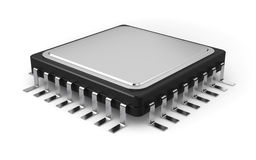 Computer processor Stock Image