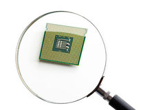 Computer processor. Royalty Free Stock Photography
