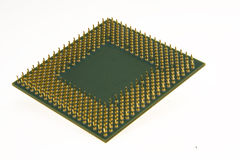 Computer processor chip Royalty Free Stock Images