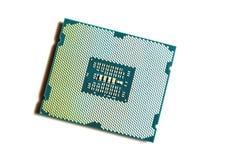Computer processor closeup Stock Image