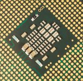 Computer processor core Stock Images