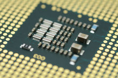 Computer processor core Royalty Free Stock Images