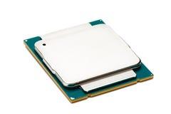 Computer processor CPU Stock Image