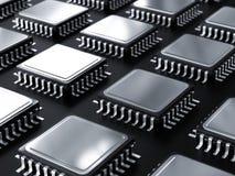 Computer processor raw  Stock Photos