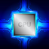 Computer processor technology Royalty Free Stock Photos