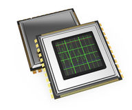 Computer processors Royalty Free Stock Photo