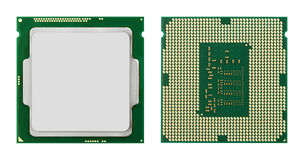 Computer processors CPU Royalty Free Stock Photos