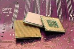 Computer processors Stock Photo