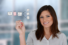 Computer Programmer Royalty Free Stock Image