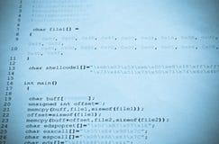 Computer programming Royalty Free Stock Photos