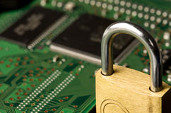 Computer protection royalty free stock images