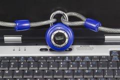 Computer Protection Closeup stock photo