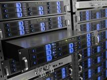 Computer rack servers Royalty Free Stock Photos