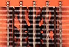 Computer radiator Stock Images