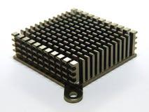 Computer Radiator. Photo of isolated computer radiator Stock Photography