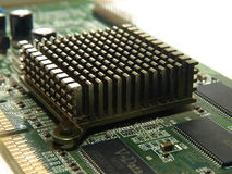 Computer Radiator. Photo of isolated computer radiator Stock Images