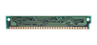 Computer RaM Chip Royalty Free Stock Image