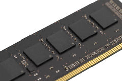 Computer RAM-Leiterplatte lokalisiert Lizenzfreies Stockfoto