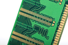 Computer RAM Memory Card Immagine Stock