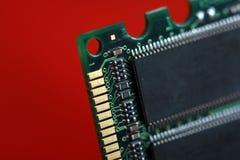 Computer RAM Memory Card Stock Image