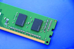 Computer ram modules royalty free stock photos