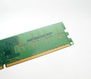 Computer  random access memory Royalty Free Stock Images