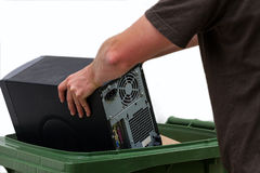 Computer recycling Stock Images
