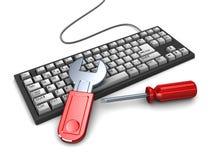 Computer repair Royalty Free Stock Image