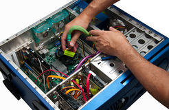 Computer Repair Service Stock Photo