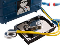 Computer Repair Stock Photo