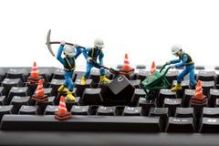 Computer repair Royalty Free Stock Images